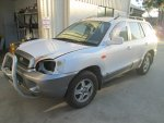 2003 SANTE FE AUTO - 179 | Dismantling Now | Penrith Auto Recyclers are dismantling major brand cars right now! We offer fully tested second hand, used car parts and genuine or aftermarket products for most of the major brands.