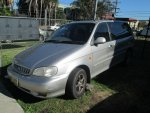 2002 KIA CARNIVAL 5 SPEED - 160 | Dismantling Now | Penrith Auto Recyclers are dismantling major brand cars right now! We offer fully tested second hand, used car parts and genuine or aftermarket products for most of the major brands.