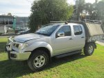 2009 NISSAN NAVARA TURBO DIESEL - 283 | Dismantling Now | Penrith Auto Recyclers are dismantling major brand cars right now! We offer fully tested second hand, used car parts and genuine or aftermarket products for most of the major brands.
