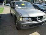 2002 HOLDEN RODEO V6 LOW KM - 240 | Dismantling Now | Penrith Auto Recyclers are dismantling major brand cars right now! We offer fully tested second hand, used car parts and genuine or aftermarket products for most of the major brands.