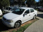 2001 HOLDEN ASTRA SEDAN LOW KMS  - 143 | Dismantling Now | Penrith Auto Recyclers are dismantling major brand cars right now! We offer fully tested second hand, used car parts and genuine or aftermarket products for most of the major brands.