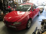 2003 ALFA 147  - 172 | Dismantling Now | Penrith Auto Recyclers are dismantling major brand cars right now! We offer fully tested second hand, used car parts and genuine or aftermarket products for most of the major brands.
