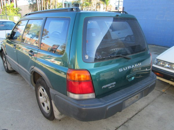 1998 SUBARU FORESTER LOW KMS | Dismantling Now | Penrith Auto Recyclers are dismantling major brand cars right now! We offer fully tested second hand, used car parts and genuine or aftermarket products for most of the major brands. (../../dc/gallery/001_2.jpg)