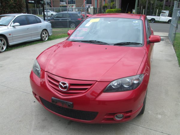 2005 MAZDA 3 SP23 MAN | Dismantling Now | Penrith Auto Recyclers are dismantling major brand cars right now! We offer fully tested second hand, used car parts and genuine or aftermarket products for most of the major brands. (../../dc/gallery/002_12.jpg)