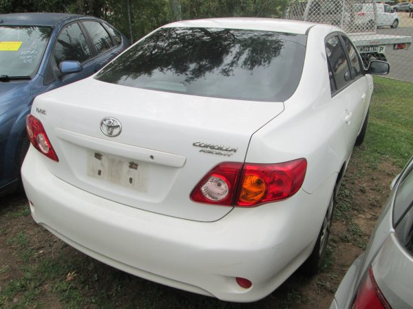 2009 TOYOTA COROLLA SEDAN | Dismantling Now | Penrith Auto Recyclers are dismantling major brand cars right now! We offer fully tested second hand, used car parts and genuine or aftermarket products for most of the major brands. (../../dc/gallery/002_20.jpg)