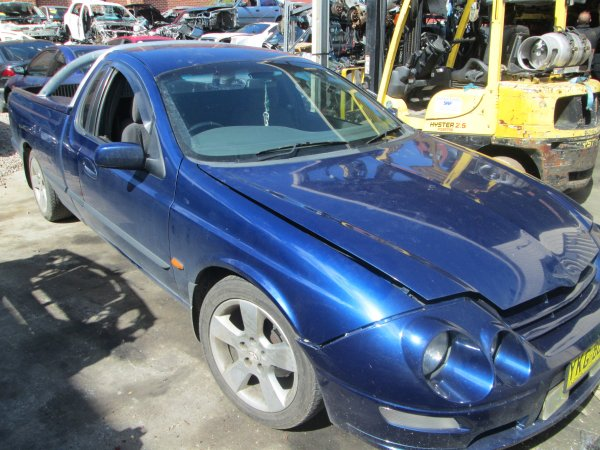 2001 FORD FALCON XR6  | Dismantling Now | Penrith Auto Recyclers are dismantling major brand cars right now! We offer fully tested second hand, used car parts and genuine or aftermarket products for most of the major brands. (../../dc/gallery/002_4.jpg)