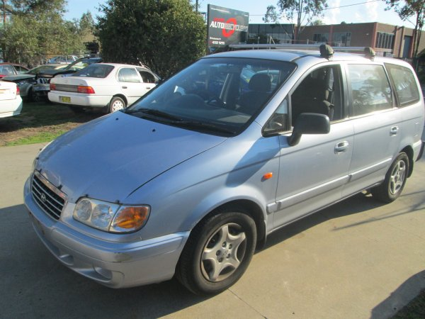 2002 HYUNDAI TRAJET AUTO | Dismantling Now | Penrith Auto Recyclers are dismantling major brand cars right now! We offer fully tested second hand, used car parts and genuine or aftermarket products for most of the major brands. (../../dc/gallery/002_8.jpg)