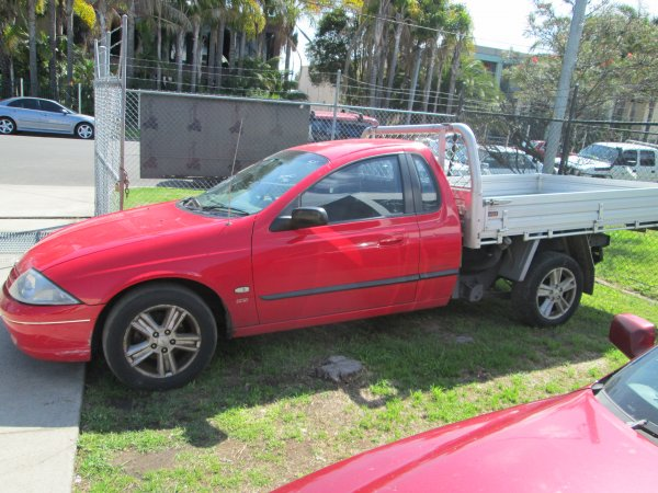 2000 AU FALCON UTE | Dismantling Now | Penrith Auto Recyclers are dismantling major brand cars right now! We offer fully tested second hand, used car parts and genuine or aftermarket products for most of the major brands. (../../dc/gallery/003.jpg)