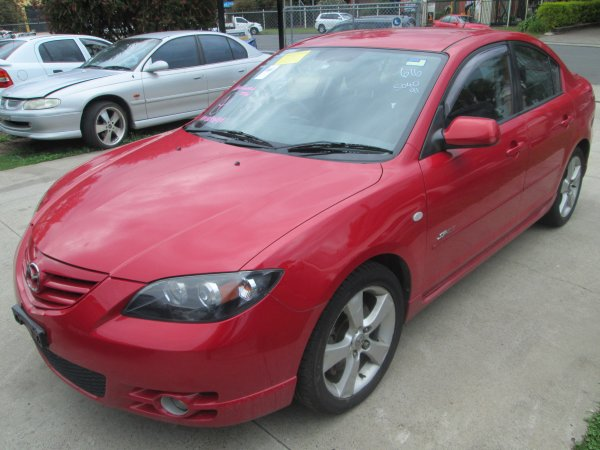 2005 MAZDA 3 SP23 MAN | Dismantling Now | Penrith Auto Recyclers are dismantling major brand cars right now! We offer fully tested second hand, used car parts and genuine or aftermarket products for most of the major brands. (../../dc/gallery/003_10.jpg)