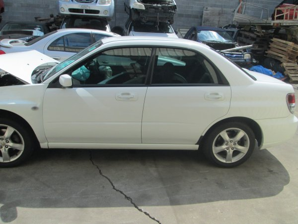 2006 SUBARU IMPREZA SEDAN AUTO  | Dismantling Now | Penrith Auto Recyclers are dismantling major brand cars right now! We offer fully tested second hand, used car parts and genuine or aftermarket products for most of the major brands. (../../dc/gallery/003_13.jpg)