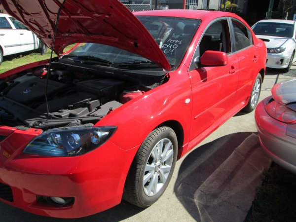 2007 MAZDA 3 | Dismantling Now | Penrith Auto Recyclers are dismantling major brand cars right now! We offer fully tested second hand, used car parts and genuine or aftermarket products for most of the major brands. (../../dc/gallery/003_17.jpg)