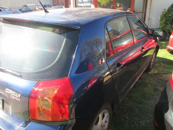 2005 TOYOTA COROLLA | Dismantling Now | Penrith Auto Recyclers are dismantling major brand cars right now! We offer fully tested second hand, used car parts and genuine or aftermarket products for most of the major brands. (../../dc/gallery/003_21.jpg)