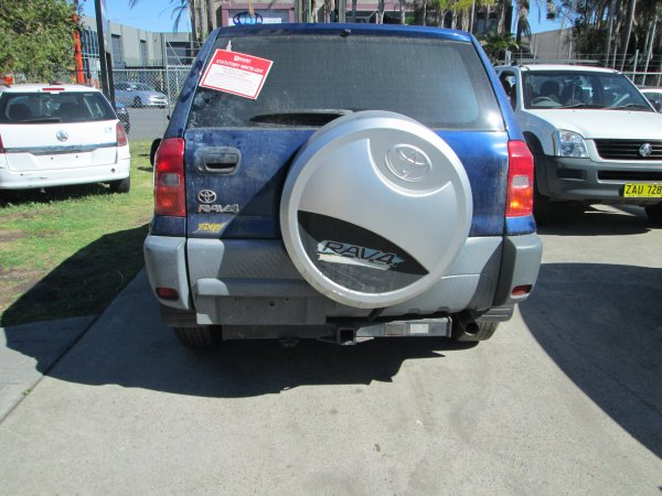 2002 TOYOTA RAV 4 | Dismantling Now | Penrith Auto Recyclers are dismantling major brand cars right now! We offer fully tested second hand, used car parts and genuine or aftermarket products for most of the major brands. (../../dc/gallery/004_17.jpg)