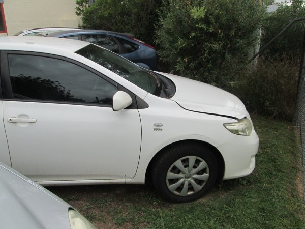2009 TOYOTA COROLLA SEDAN | Dismantling Now | Penrith Auto Recyclers are dismantling major brand cars right now! We offer fully tested second hand, used car parts and genuine or aftermarket products for most of the major brands. (../../dc/gallery/004_18.jpg)