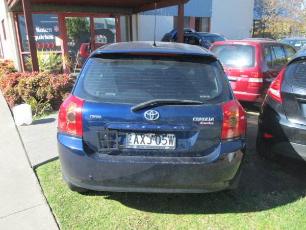 2005 TOYOTA COROLLA | Dismantling Now | Penrith Auto Recyclers are dismantling major brand cars right now! We offer fully tested second hand, used car parts and genuine or aftermarket products for most of the major brands. (../../dc/gallery/004_23.jpg)