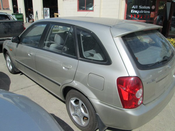 2003 MAZDA 323 HATCH  | Dismantling Now | Penrith Auto Recyclers are dismantling major brand cars right now! We offer fully tested second hand, used car parts and genuine or aftermarket products for most of the major brands. (../../dc/gallery/006.jpg)