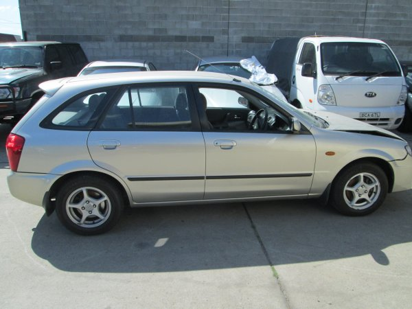 2003 MAZDA 323 HATCH  | Dismantling Now | Penrith Auto Recyclers are dismantling major brand cars right now! We offer fully tested second hand, used car parts and genuine or aftermarket products for most of the major brands. (../../dc/gallery/007_1.jpg)