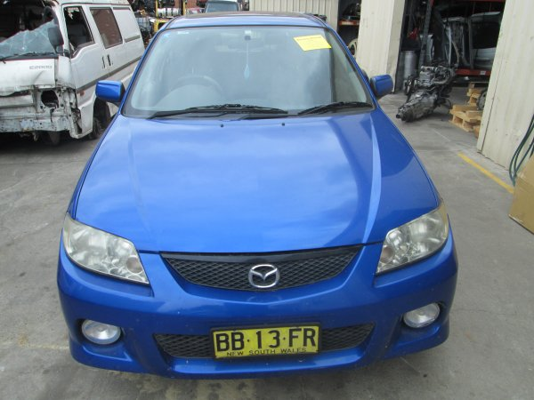 2003 MAZDA 323  SP20 AUTO | Dismantling Now | Penrith Auto Recyclers are dismantling major brand cars right now! We offer fully tested second hand, used car parts and genuine or aftermarket products for most of the major brands. (../../dc/gallery/007_10.jpg)