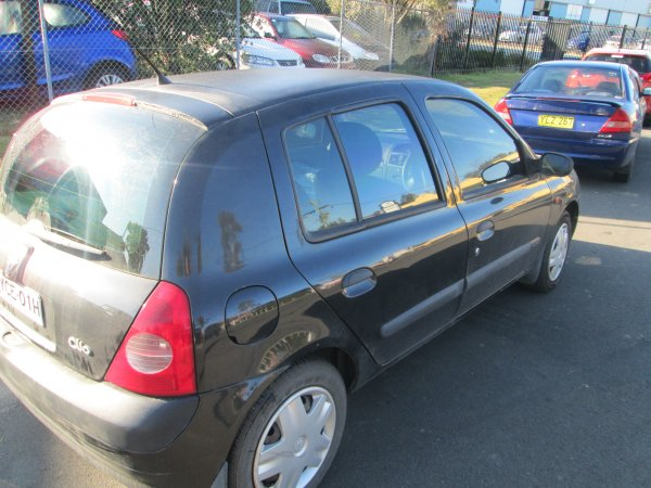 2004 RENAULT CLIO LOWKMS | Dismantling Now | Penrith Auto Recyclers are dismantling major brand cars right now! We offer fully tested second hand, used car parts and genuine or aftermarket products for most of the major brands. (../../dc/gallery/008_1.jpg)