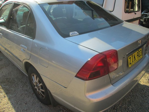 2002 HONDA CIVIC AUTO | Dismantling Now | Penrith Auto Recyclers are dismantling major brand cars right now! We offer fully tested second hand, used car parts and genuine or aftermarket products for most of the major brands. (../../dc/gallery/008_6.jpg)