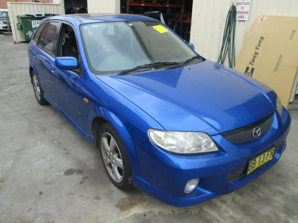 2003 MAZDA 323  SP20 AUTO | Dismantling Now | Penrith Auto Recyclers are dismantling major brand cars right now! We offer fully tested second hand, used car parts and genuine or aftermarket products for most of the major brands. (../../dc/gallery/008_7.jpg)