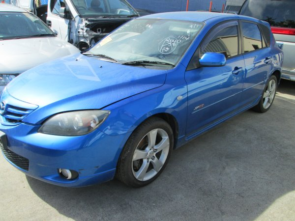 2004 MAZDA 3 SP23 | Dismantling Now | Penrith Auto Recyclers are dismantling major brand cars right now! We offer fully tested second hand, used car parts and genuine or aftermarket products for most of the major brands. (../../dc/gallery/010_13.jpg)