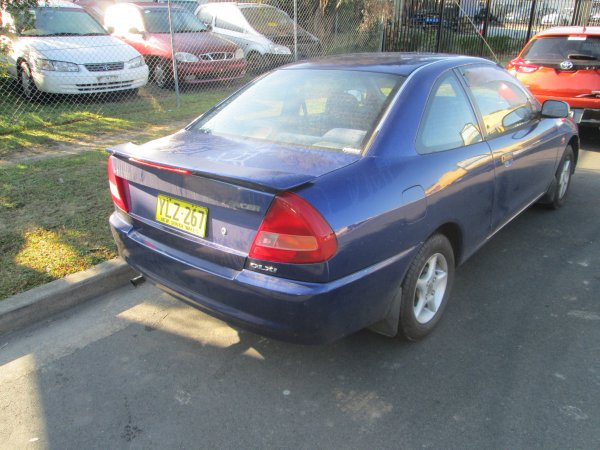 1999 LANCER COUPE MANUAL | Dismantling Now | Penrith Auto Recyclers are dismantling major brand cars right now! We offer fully tested second hand, used car parts and genuine or aftermarket products for most of the major brands. (../../dc/gallery/010_3.jpg)