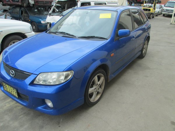 2003 MAZDA 323  SP20 AUTO | Dismantling Now | Penrith Auto Recyclers are dismantling major brand cars right now! We offer fully tested second hand, used car parts and genuine or aftermarket products for most of the major brands. (../../dc/gallery/011_5.jpg)