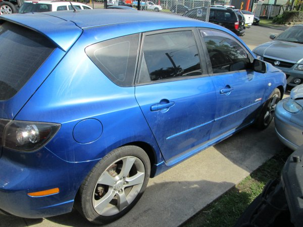 2004 MAZDA 3 SP23 | Dismantling Now | Penrith Auto Recyclers are dismantling major brand cars right now! We offer fully tested second hand, used car parts and genuine or aftermarket products for most of the major brands. (../../dc/gallery/012_8.jpg)