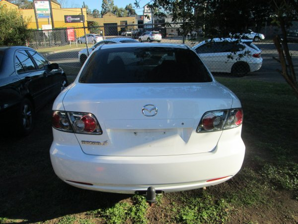 2006 MAZDA 6 SEDAN | Dismantling Now | Penrith Auto Recyclers are dismantling major brand cars right now! We offer fully tested second hand, used car parts and genuine or aftermarket products for most of the major brands. (../../dc/gallery/031.jpg)