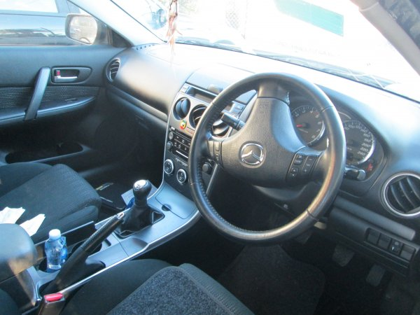 2006 MAZDA 6 SEDAN | Dismantling Now | Penrith Auto Recyclers are dismantling major brand cars right now! We offer fully tested second hand, used car parts and genuine or aftermarket products for most of the major brands. (../../dc/gallery/034.jpg)
