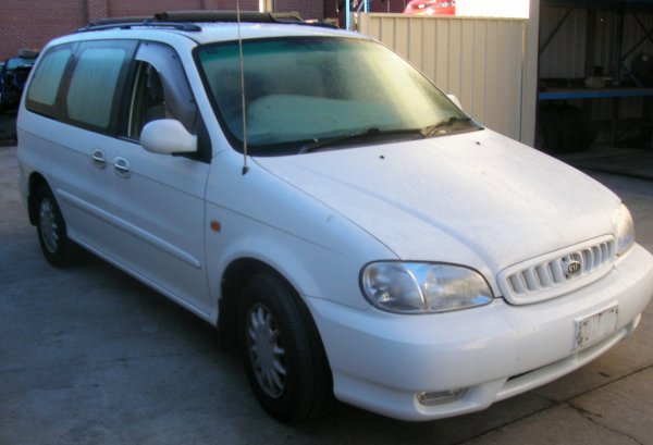 2001 KIA CARNIVAL MANUAL | Dismantling Now | Penrith Auto Recyclers are dismantling major brand cars right now! We offer fully tested second hand, used car parts and genuine or aftermarket products for most of the major brands. (../../dc/gallery/A00093_B.jpg)