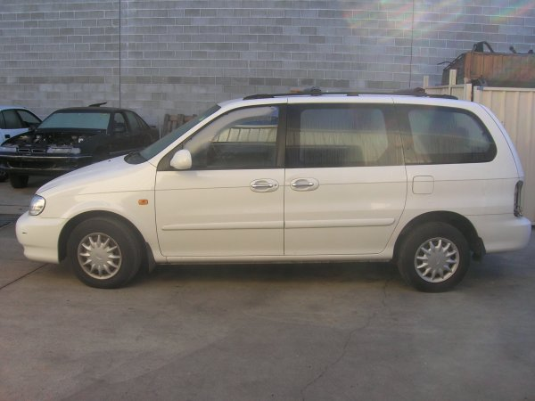 2001 KIA CARNIVAL MANUAL | Dismantling Now | Penrith Auto Recyclers are dismantling major brand cars right now! We offer fully tested second hand, used car parts and genuine or aftermarket products for most of the major brands. (../../dc/gallery/A00093_D.jpg)