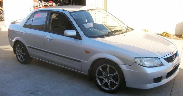 2001 MAZDA 323 PROTEGE  | Dismantling Now | Penrith Auto Recyclers are dismantling major brand cars right now! We offer fully tested second hand, used car parts and genuine or aftermarket products for most of the major brands. (../../dc/gallery/A00101_B.jpg)