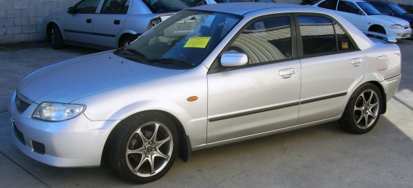 2001 MAZDA 323 PROTEGE  | Dismantling Now | Penrith Auto Recyclers are dismantling major brand cars right now! We offer fully tested second hand, used car parts and genuine or aftermarket products for most of the major brands. (../../dc/gallery/A00101_D.jpg)