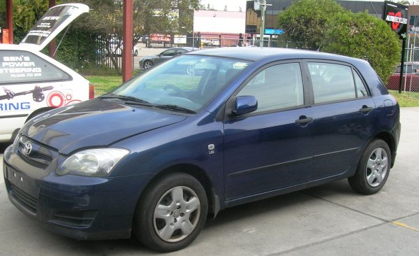 2006 TOYOTA COROLLA HATCH LOW KMS | Dismantling Now | Penrith Auto Recyclers are dismantling major brand cars right now! We offer fully tested second hand, used car parts and genuine or aftermarket products for most of the major brands. (../../dc/gallery/A00133_C.jpg)