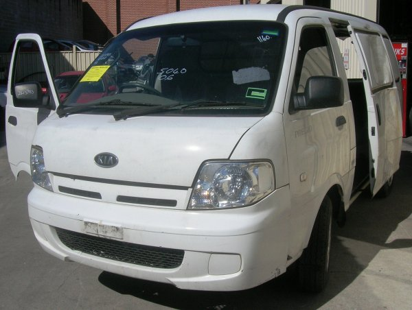 2005 KIA PREGIO VAN LOW KMS | Dismantling Now | Penrith Auto Recyclers are dismantling major brand cars right now! We offer fully tested second hand, used car parts and genuine or aftermarket products for most of the major brands. (../../dc/gallery/A00144_A.jpg)