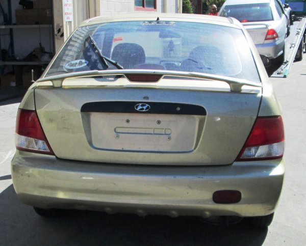 2001 HYUNDAI ACCENT LOW KMS | Dismantling Now | Penrith Auto Recyclers are dismantling major brand cars right now! We offer fully tested second hand, used car parts and genuine or aftermarket products for most of the major brands. (../../dc/gallery/A00163_D.jpg)