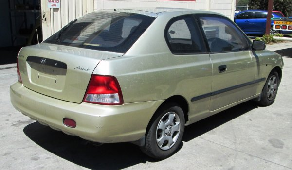2002 HYUNDAI ACCENT 56000 KMS | Dismantling Now | Penrith Auto Recyclers are dismantling major brand cars right now! We offer fully tested second hand, used car parts and genuine or aftermarket products for most of the major brands. (../../dc/gallery/A00177_D.jpg)