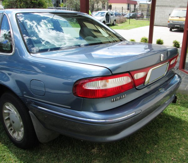 1998 FORD FAIRLANE ALL OPTIONS | Dismantling Now | Penrith Auto Recyclers are dismantling major brand cars right now! We offer fully tested second hand, used car parts and genuine or aftermarket products for most of the major brands. (../../dc/gallery/A00182_D.jpg)