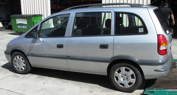 2002 HOLDEN ZAFIRA | Dismantling Now | Penrith Auto Recyclers are dismantling major brand cars right now! We offer fully tested second hand, used car parts and genuine or aftermarket products for most of the major brands. (../../dc/gallery/A00226_C.jpg)