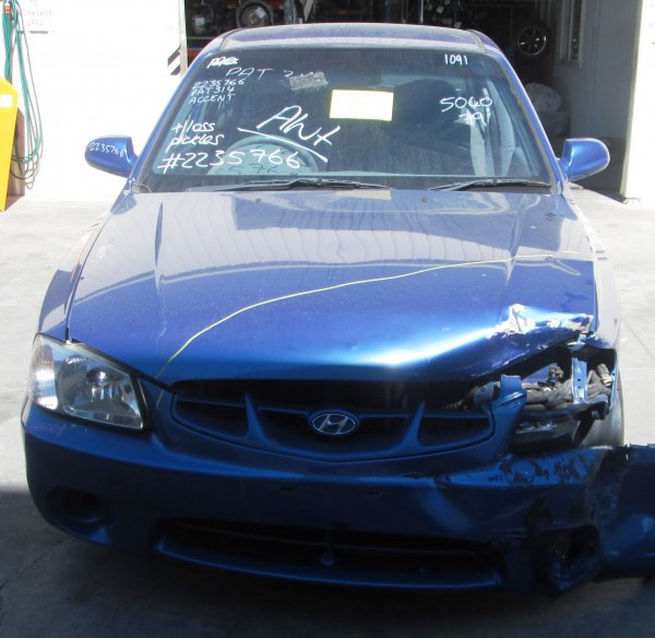 2001 ACCENT LOW KMS AUTO | Dismantling Now | Penrith Auto Recyclers are dismantling major brand cars right now! We offer fully tested second hand, used car parts and genuine or aftermarket products for most of the major brands. (../../dc/gallery/A00297_E.jpg)