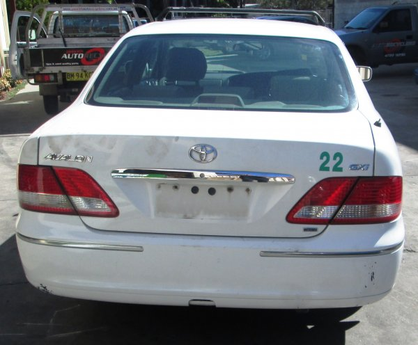 2003 TOYOTA AVALON | Dismantling Now | Penrith Auto Recyclers are dismantling major brand cars right now! We offer fully tested second hand, used car parts and genuine or aftermarket products for most of the major brands. (../../dc/gallery/A00299_D.jpg)