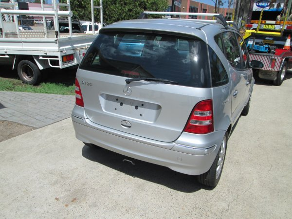 2003 MERCEDES A190 | Dismantling Now | Penrith Auto Recyclers are dismantling major brand cars right now! We offer fully tested second hand, used car parts and genuine or aftermarket products for most of the major brands. (../../dc/gallery/MERCEDES_A190_001.jpg)