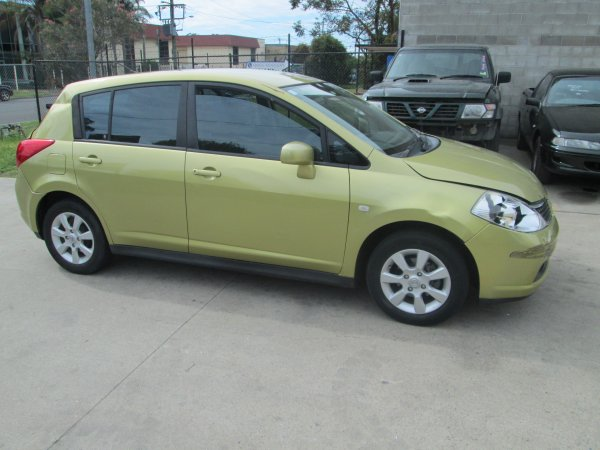2007 NISSAN TIDA HATCH  | Dismantling Now | Penrith Auto Recyclers are dismantling major brand cars right now! We offer fully tested second hand, used car parts and genuine or aftermarket products for most of the major brands. (../../dc/gallery/PAR_WEBSITE_CARS_001_2.jpg)