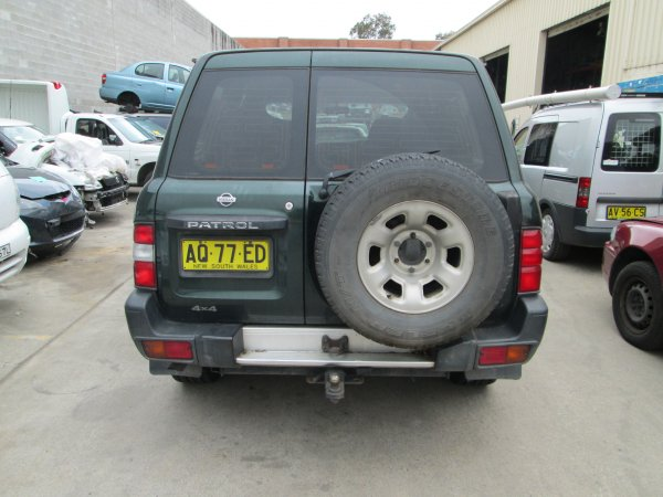 1999 NISSAN PATROL 2.8 TURBO | Dismantling Now | Penrith Auto Recyclers are dismantling major brand cars right now! We offer fully tested second hand, used car parts and genuine or aftermarket products for most of the major brands. (../../dc/gallery/PAR_WEBSITE_CARS_002_2.jpg)