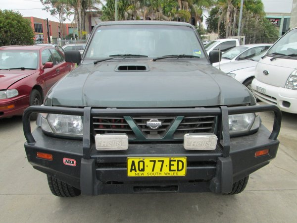 1999 NISSAN PATROL 2.8 TURBO | Dismantling Now | Penrith Auto Recyclers are dismantling major brand cars right now! We offer fully tested second hand, used car parts and genuine or aftermarket products for most of the major brands. (../../dc/gallery/PAR_WEBSITE_CARS_003_1.jpg)
