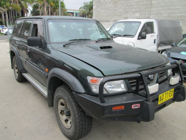 1999 NISSAN PATROL 2.8 TURBO | Dismantling Now | Penrith Auto Recyclers are dismantling major brand cars right now! We offer fully tested second hand, used car parts and genuine or aftermarket products for most of the major brands. (../../dc/gallery/PAR_WEBSITE_CARS_004_2.jpg)