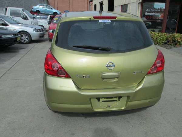 2007 NISSAN TIDA HATCH  | Dismantling Now | Penrith Auto Recyclers are dismantling major brand cars right now! We offer fully tested second hand, used car parts and genuine or aftermarket products for most of the major brands. (../../dc/gallery/PAR_WEBSITE_CARS_004_3.jpg)