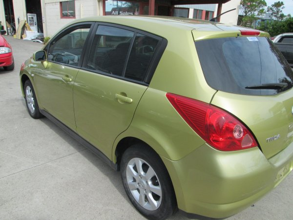 2007 NISSAN TIDA HATCH  | Dismantling Now | Penrith Auto Recyclers are dismantling major brand cars right now! We offer fully tested second hand, used car parts and genuine or aftermarket products for most of the major brands. (../../dc/gallery/PAR_WEBSITE_CARS_005_2.jpg)